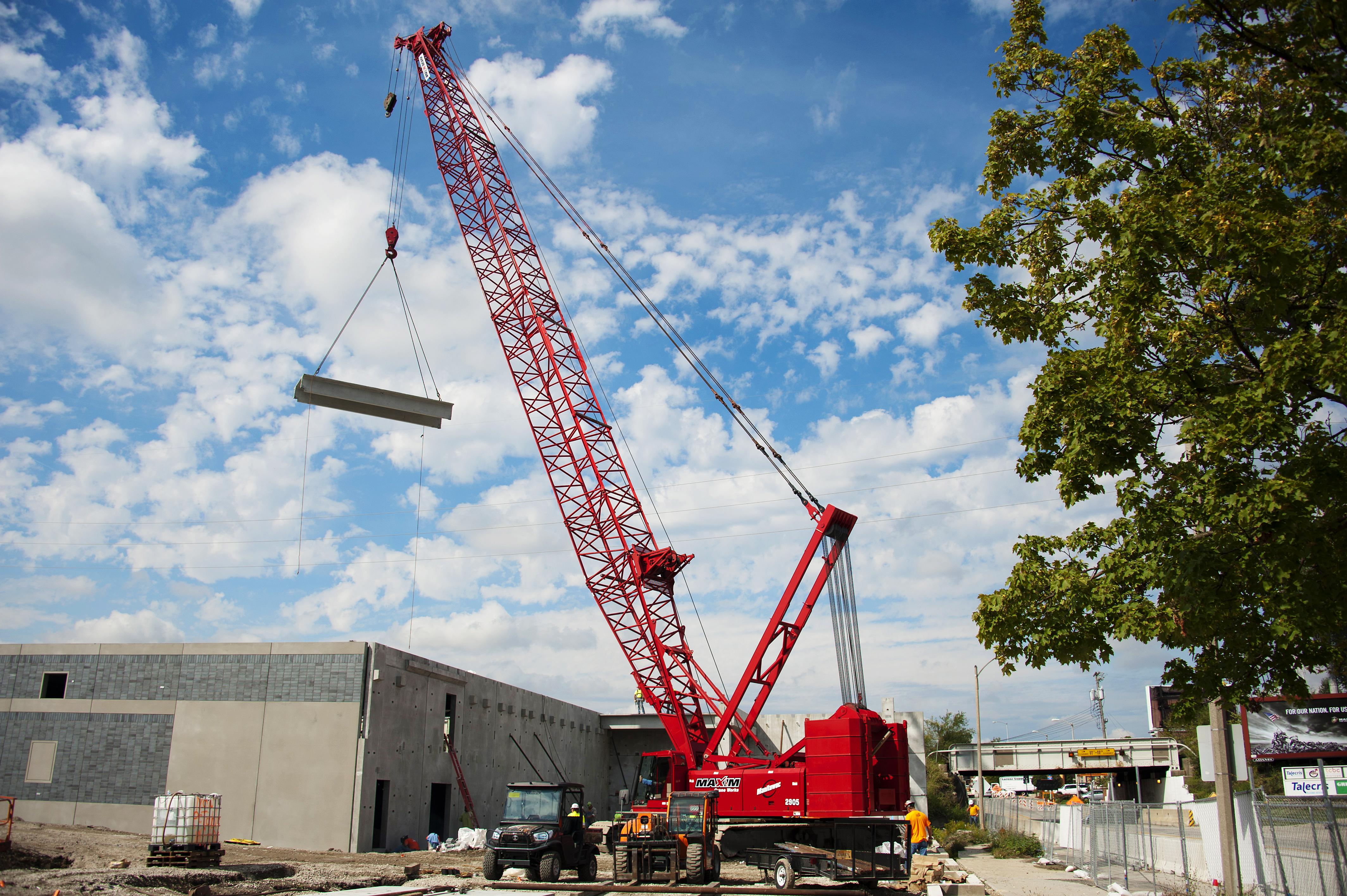 Pre-Cast Concrete Beams – Prairie Steel Services Inc
